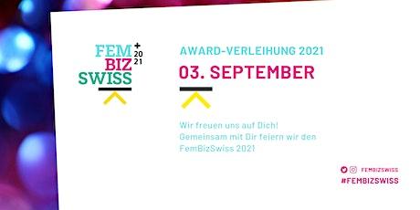 #FemBizSwiss-Awardverleihung 2021 in Zürich Tickets