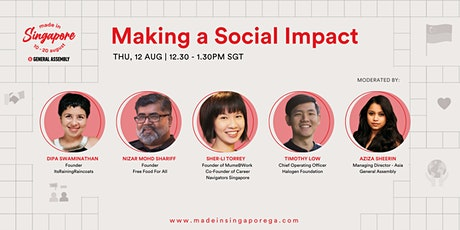 Made in Singapore: Making A Social Impact tickets