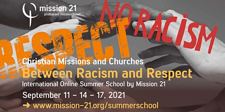 Christian Missions and Churches - Between Racism and Respect tickets