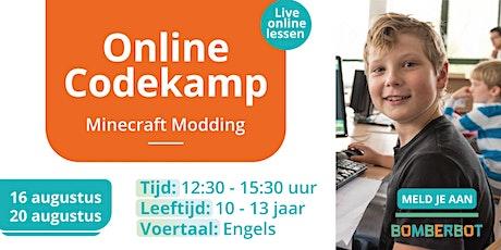 Bomberbot/ Coderise Online Bootcamp |Minecraft Modding| 10-13 y.o| 5 days tickets