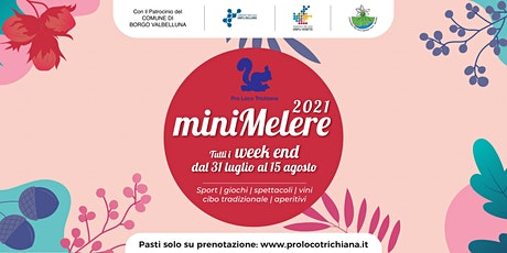 Mini Melere - domenica 08/08 biglietti