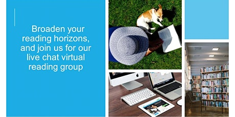 Virtual book chat (reading group) tickets