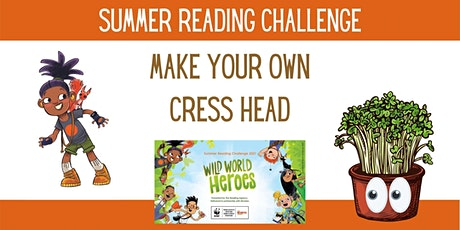 Summer Reading Challenge - Cress Heads at Nuneaton Library (limited no.s) tickets