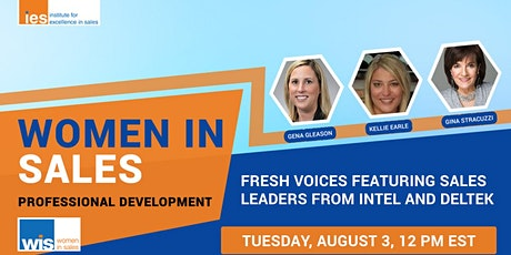 Women in Sales: Fresh Voices Featuring Sales Leaders from Intel and Deltek tickets