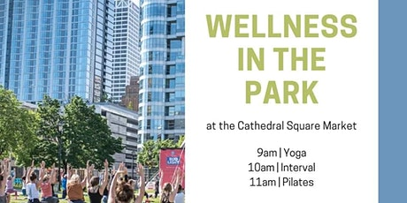 FREE Saturday Yoga, Interval and Pilates at Cathedral Square tickets