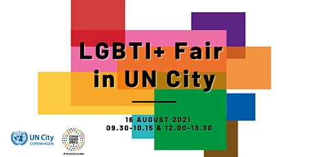 LGBTI+ Fair in UN City Copenhagen (online attendance) tickets