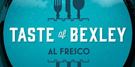 Taste of Bexley: Al Fresco tickets