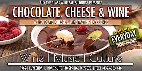 Wine 4 Rookies | Chocolate Cheese & Wine Tasting Experience tickets