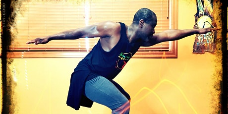 African Dance Class ONLINE w Etienne in August (6pm TUES) tickets
