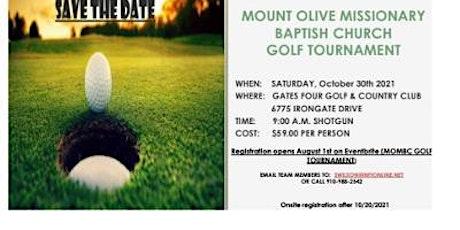 MOMBC Golf Tournament tickets