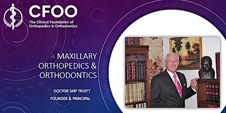 Maxillofacial Orthopaedics & Orthodontics  (£650 ex.VAT) tickets
