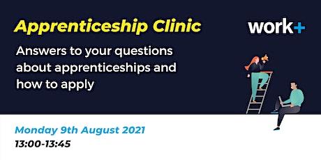 Workplus Apprenticeship Clinic tickets