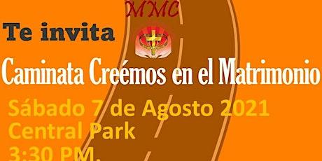 CAMINATA CREEMOS EN EL MATRIMONIO tickets