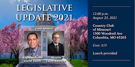 Legislative Update 2021 (Columbia) tickets