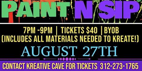 BYOB Paint N Sip! tickets