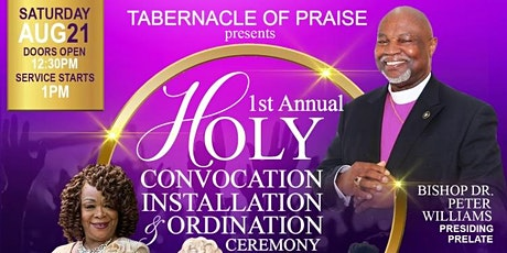 Tabernacle of Praise 1st Annual Holy Convocation tickets