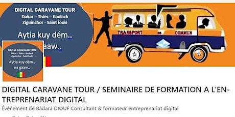 DIGITAL CARAVANE TOUR/ FORMATION INFOGRAPHIE DEBUTANT billets