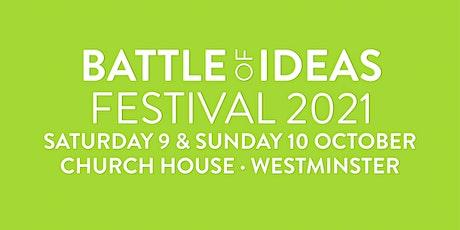 Battle of Ideas festival 2021 tickets
