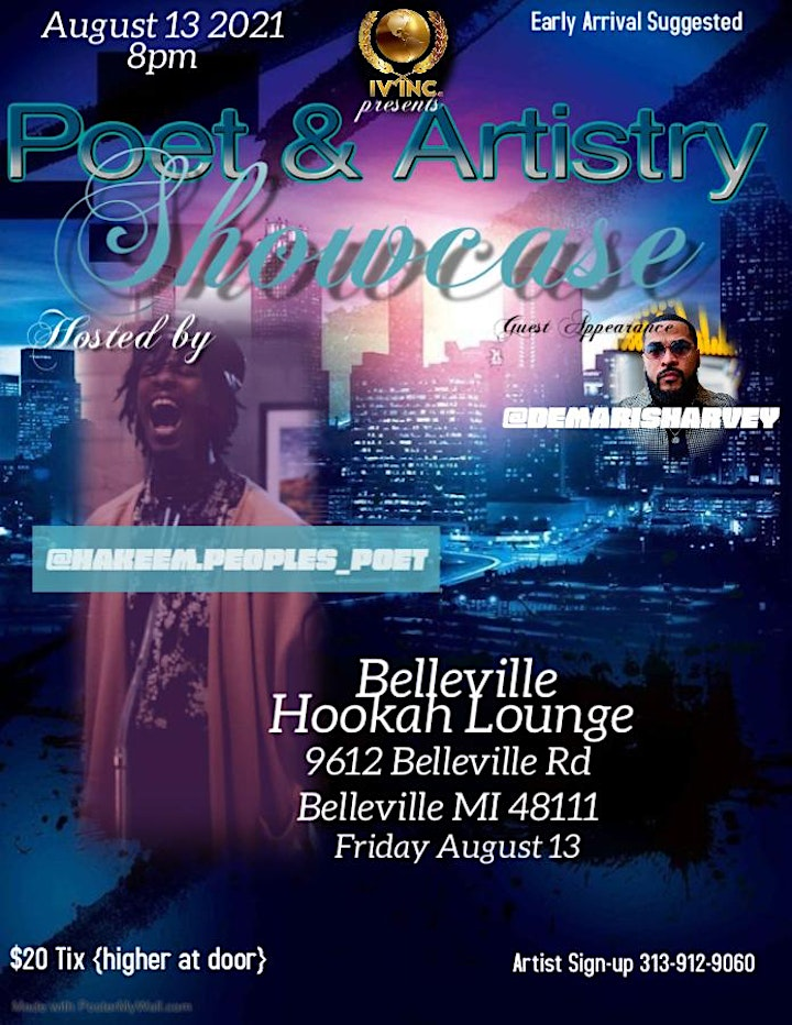Poetry & Artistry Showcase Part 2 image