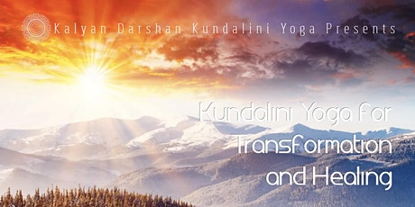 Kundalini Yoga for Transformation and Healing tickets