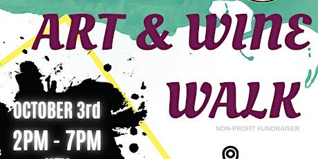 Art & Wine Walk Fundraiser tickets