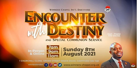 Children's Church 1st Service @Winners Chapel International Dartford tickets