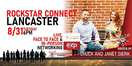 Free Rockstar Connect Lancaster Networking Event (August, Lancaster) tickets