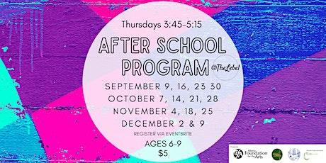 Thursdays Afterschool Program tickets