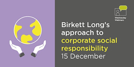 Birkett Long's approach to corporate social responsibility tickets