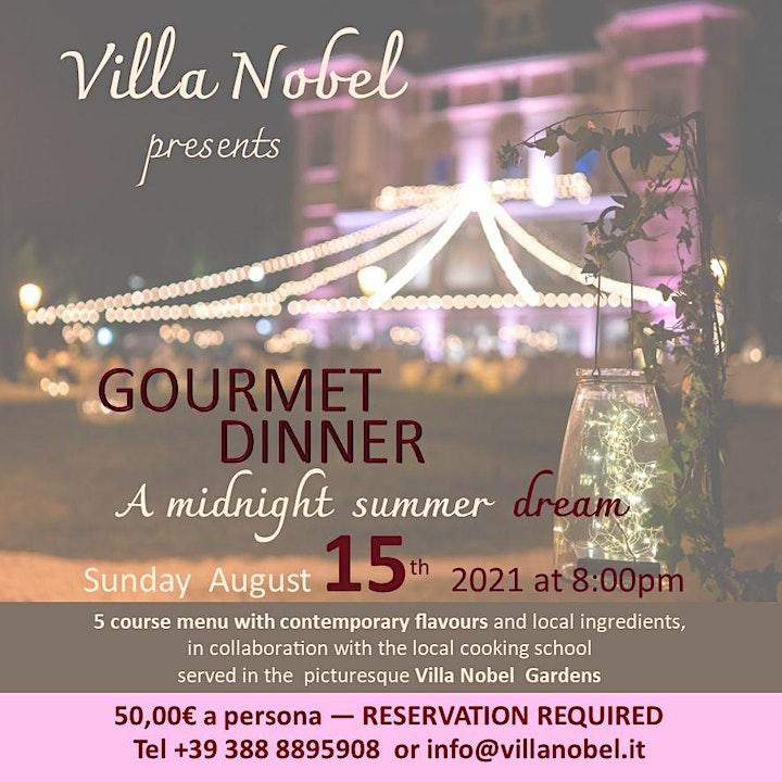 Immagine CENA GOURMET - Sogno di una notte di mezza estate