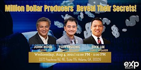 Million Dollar Producers Reveal Their Secrets! tickets