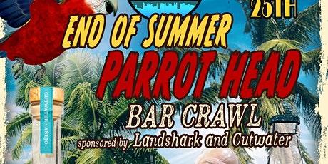 End of Summer Parrot Head Bar Crawl tickets