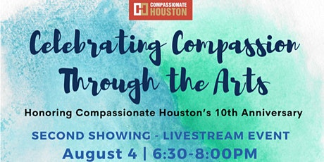 Compassion Through the Arts - free virtual event tickets