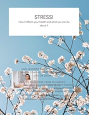 STRESS! How it affects your health and what you can do about it tickets