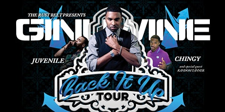 The Back It Up Tour - Ginuwine with Juvenile, Chingy & Random Tanner tickets