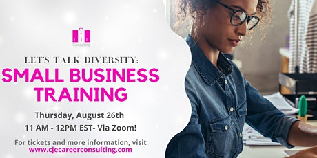 Let's Talk Diversity: Small Business Training tickets