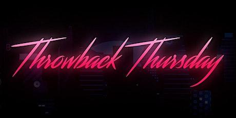 Good batch hookah Lounge Throw Back Thursday tickets