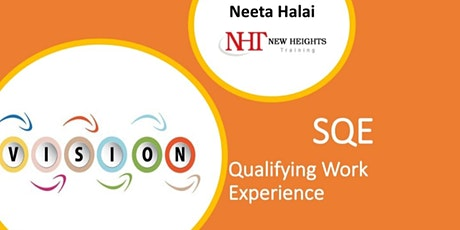 SQE: Qualifying Work Experience (QWE) tickets