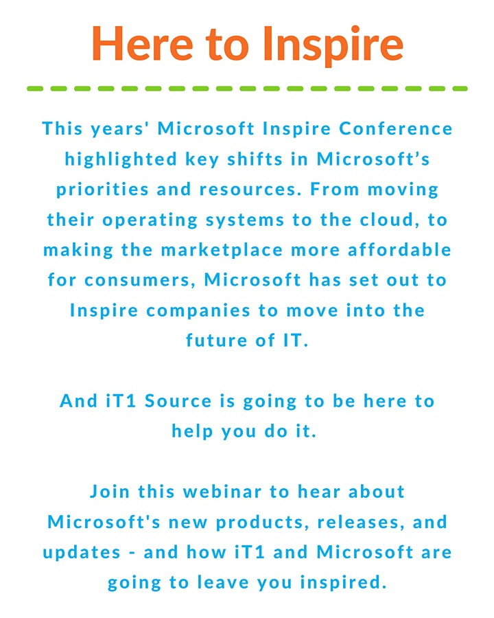 iT1 Presents: Microsoft Updates: 10 things you need to know image