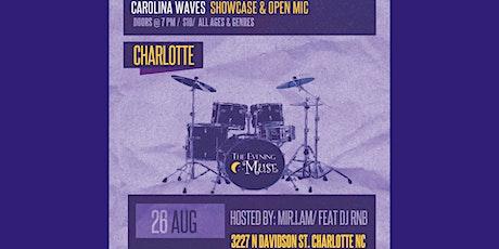 Carolina Waves Showcase and Open Mic tickets