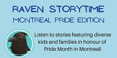 Raven Storytime: Montreal Pride Edition