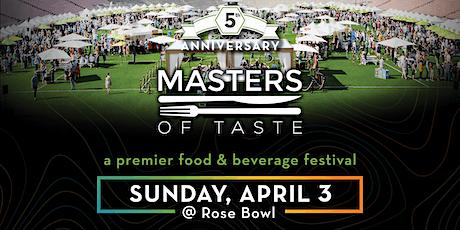 Masters of Taste 2022 tickets