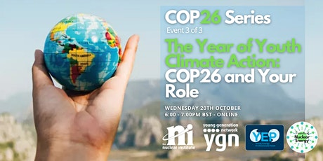 The Year of Youth Climate Action: COP26 and Your Role tickets