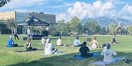 Free Outdoor Mat Pilates! tickets