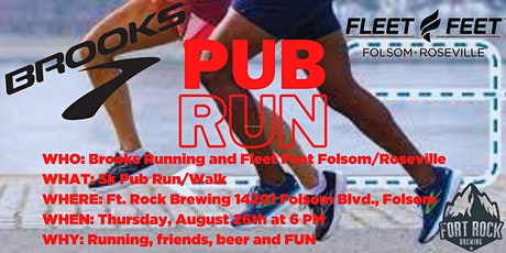 Brooks x Fleet Feet Pub Run tickets