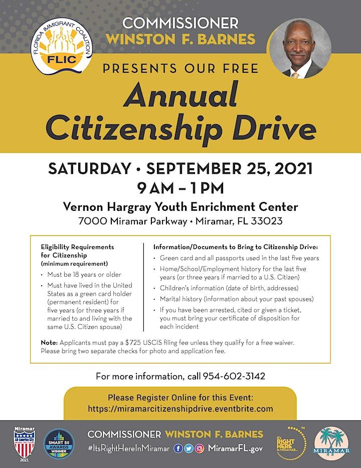 Annual Citizenship Drive image