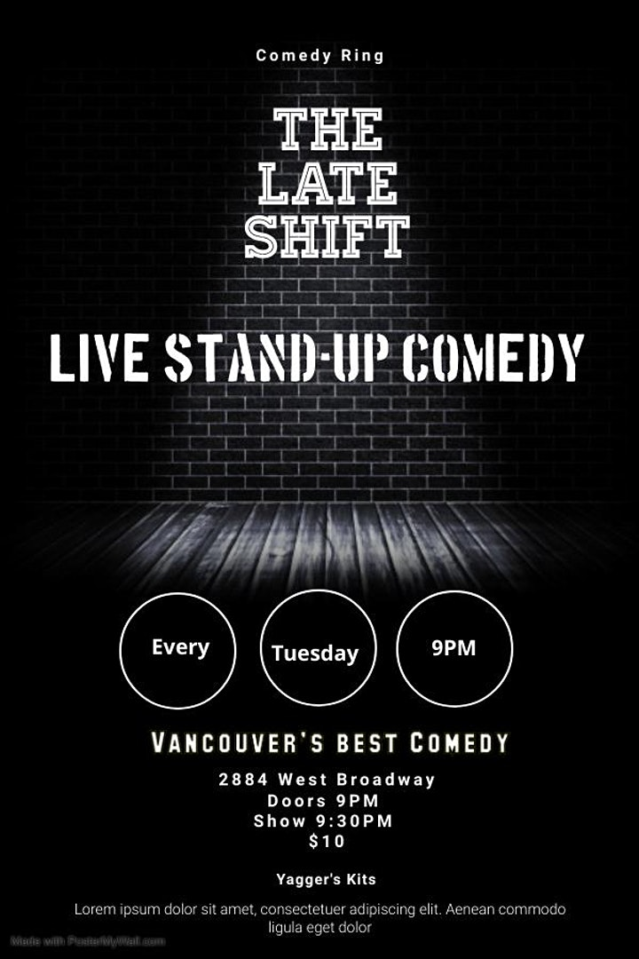 COMEDY Ring - The Late Shift image