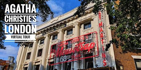 Agatha Christie's London - A London Walks Anniversary Virtual Tour tickets
