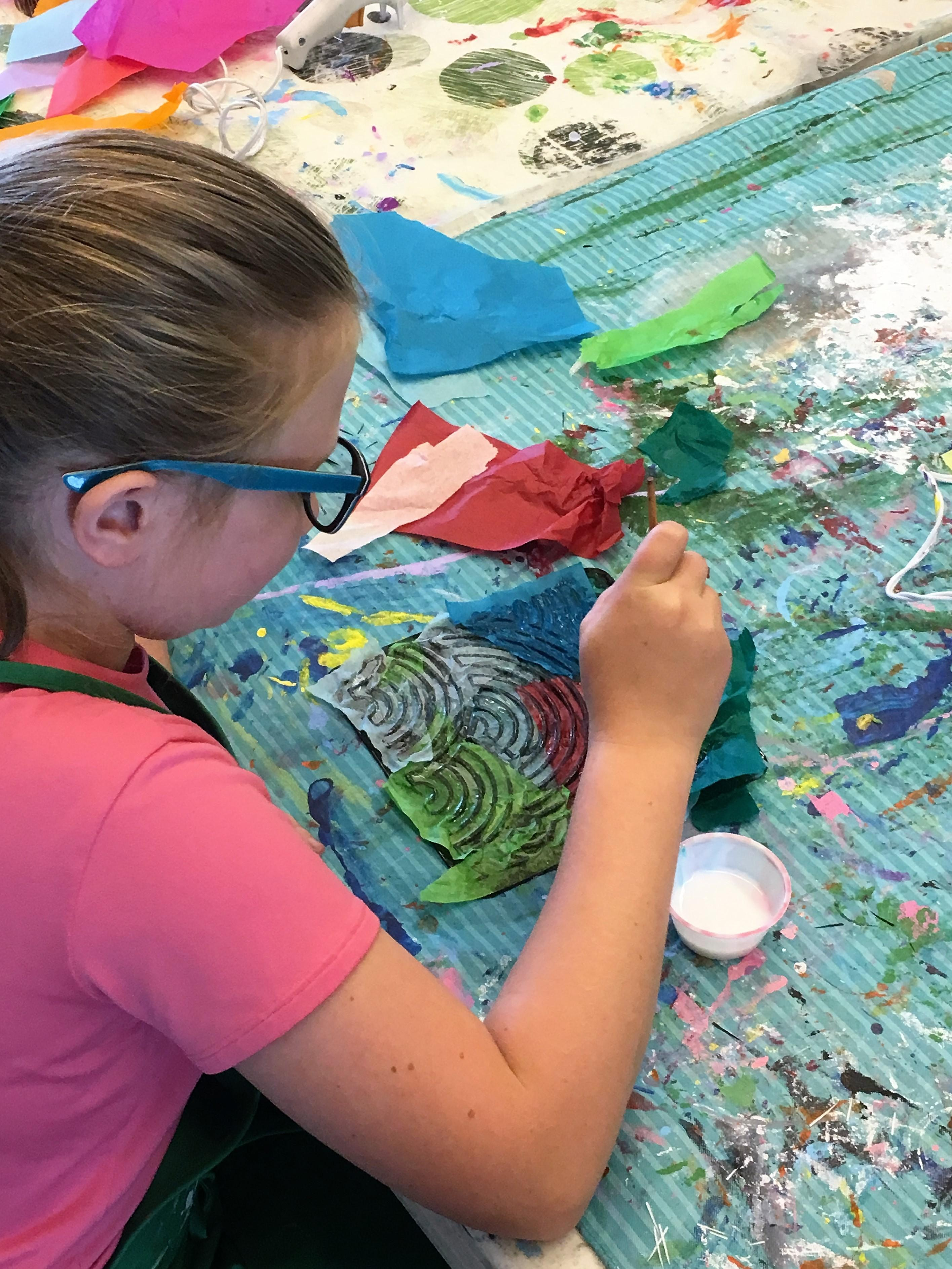 Art 101 with Donna Behrens (Ages 5-8)