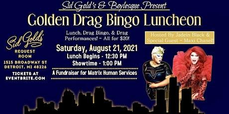 Golden Drag Bingo tickets